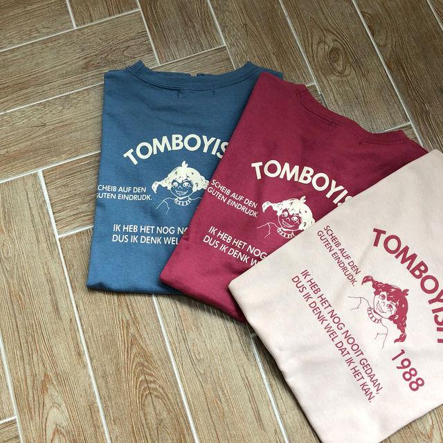 [1+1] 삐삐 오버핏 반팔 티셔츠 (3Color)-상세이미지5