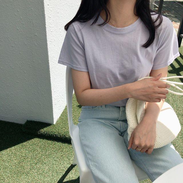[500장돌파기념 10%할인] 팬톤 컬러라운드 T-상세이미지4