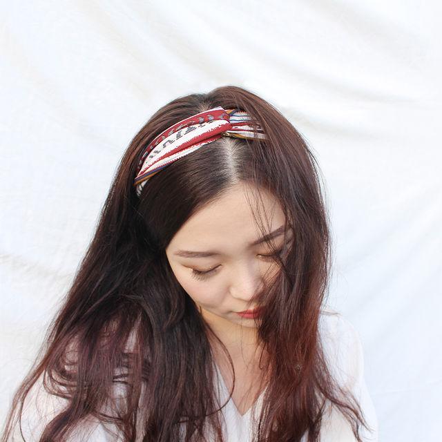 [2+1]신상추가 재입고♥︎ 반다나 헤어밴드 26종 ♥︎-상세이미지4